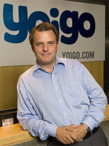 Johan Andsjö, CEO de Yoigo.