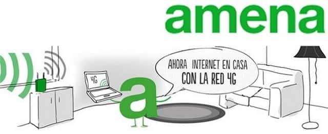 Aunque Risto Mejide sea la cara elegida por Amena para promocionar sus productos, la inicial de la marca también sigue presente en algunas campañas.