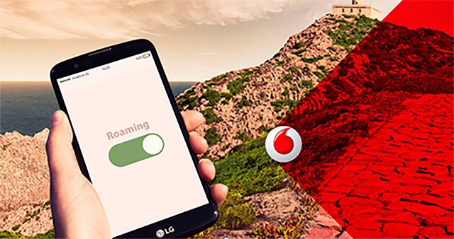 roaming en Vodafone