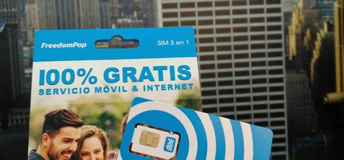 Primera toma de contacto con una SIM de FreedomPop España